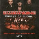 SCORPIONS Moment Of Glory DVD LIVE plus interviews RARE R2 PAL