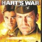 HART'S WAR Bruce Willis, Colin Farrell   DVD R2 PAL R2 PAL