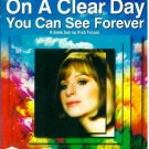ON A CLEAR DAY YOU CAN SEE FOREVER Barbra Streisand RARE DVD REGION 2 PALorigina