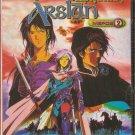 THE HEROIC LEGEND OF ARSLAN, PART 2   anime  SEALED DVD R0 PAL original