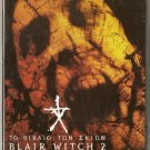 BOOK OF SHADOWS: BLAIR WITCH 2 Kim Director,Donovan NEW R2 PAL original