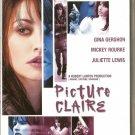 PICTURE CLAIRE Mickey Rourke, Juliette Lewis, Gershon R2 PAL original