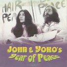 JOHN &YOKO'S YEAR OF PEACE JOHN LENNON & YOKO ONO   DVD R2 PAL