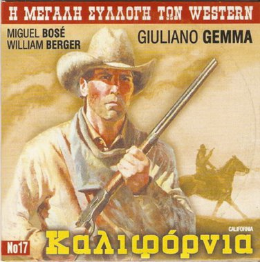 CALIFORNIA  GIULIANO GEMMA, WILLIAM BERGER, MIGUEL BOSE R2 PAL
