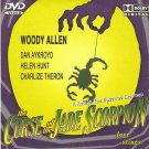 THE CURSE OF THE JADE SCORPION WOODY ALLEN,DAN AYKROYD R0 PAL
