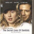 THE SECRET LIVES OF DENTISTS Campbell Scott, Hope Davis R2 PAL