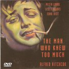 THE MAN WHO KNEW TOO MUCH HITCHCOCK (LESLIE BANKS) R0 PAL