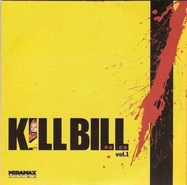 KILL BILL VOL. 1 Uma Thurman,Lucy Liu,Hannah,Carradine R0 PAL