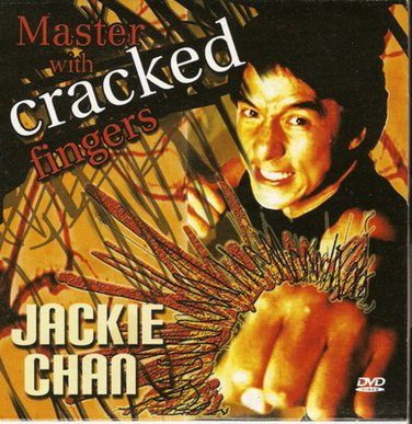 MASTER WITH CRACKED FINGERS Jackie Chan RARE dvd R0 PAL