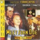 MEET JOHN DOE (GARY COOPER) + PRICK UP YOUR EARS (Rare) R0 PAL