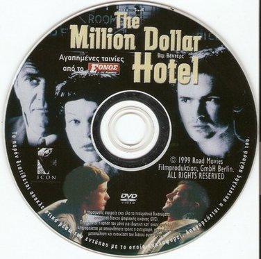 THE MILLION DOLLAR HOTEL JOVOVICH,MEL GIBSON, (WENDERS) R2 PAL