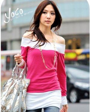 B0070 - Long sleeve blouse
