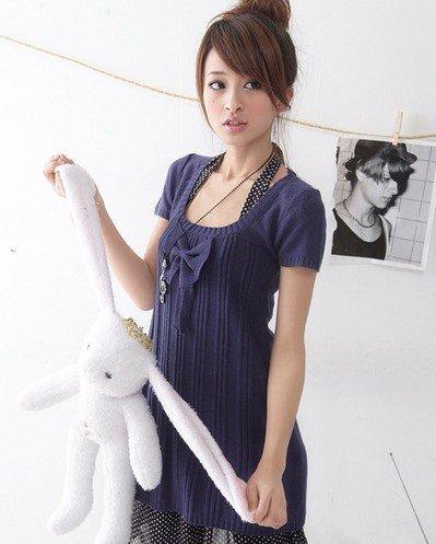 B0086 - Knitted Woolen Blouse