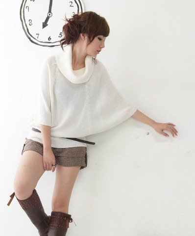 B0087 - Knitted Woolen Blouse