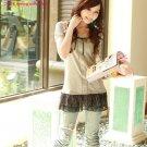 B0095 cotton chiffon blouse
