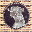1993 Egypt Egipto silver 5Pound Proof coinsÄgypten Silbermünzen, Cleopatra KM735