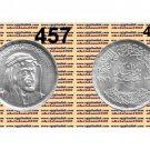 "1976 Egypt Silver Coins"" Great king Faysal Ibn Abdulaziz Al Saud"" UNC,1 P,#KM457"