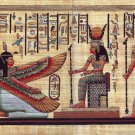 "Egyptian, Pharaonic, Authentic Papyrus Paint size 30x80 cm(12""x32"") 12 to choose"