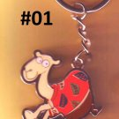 Egypt - key chain - Hurghada -  Camel - I love Egypt  - 4 colors to choose from