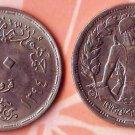 Coins Metal-Munzen-Monedas LOT x 8 Coins Egypt 10 Piastres1967-1974 Rare !!!