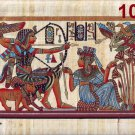 """Egyptian, Pharaonic, Authentic Papyrus Paint size60x120 cm (24""""x48"""") 7 to choose"""