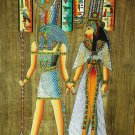 """Egyptian, Pharaonic, Authentic Papyrus Paint size 40x60 cm16""""x24"""" many 2 choose"""