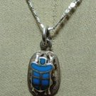 "Hall marked Egyptian Pharaonic Silver Pendant  ""Scarab "" ,Variety as a picture"