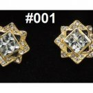 ASFOUR the finest Crystal  jewellery, Cufflinks Men's Shirt Suit Cuff Links