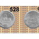 "1981 Egypt Silver Coins "" Suez Canal Nationalization "" UNC KM#528 ,  One Pound"