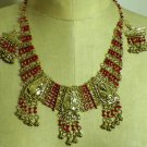 Egyptian Pharaoh Custom Jewelry Set Necklace and  Earrings,Many Colors 2 choose