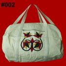 Egyptian Cloth Shoulder Bag  or carry on purse Handmade in Egypt