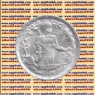 """1974 Egypt Egipto Египет Ägypten Silver Coins """" 6th October War """" 1 P, #KM443"""