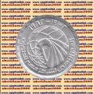"1982 Egypt Egipto Mısır Египет Ägypten Silver Coins "" Egypt Air "", KM#539 ,1 P"