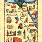 Wholesale Lot of 100 Egypt Египет Ägypten Papyrus HandMade 20x30Cm. Print art