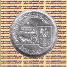 """1989 Egypt Egipto Египет Ägypten Silver Coin """"Agriculture Faculty(Cairo Uni"""",5 P"""