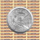 """1978 Egypt Egipto مصر  Ägypten Silver Coins """" The Tourah cement company """",1 P"""