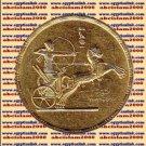 """1957 Egypt Egipto Египет Египет Ägypten Gold Coins """" Egyptian National Day """",1 P"""