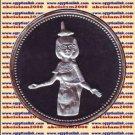 1993 Egypt silver 5 Pound Proof coin Ägypten Silbermünzen, Selket (god of magic)