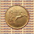 """1958 Egypt Egipto Египет Египет Ägypten Gold Coins """"Egyptian National Day"""",50 Pt"""