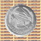 """1968 Egypt Egipto Египет Ägypten Silver Coins """" Power generation-Aswan Dam """",1 P"""