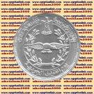 """1997 Egypt Egipto مصر  Египет Ägypten Silver Coin """" Air Force Day """" KM#846 ,5 P"""