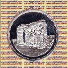 1994 Egypt silver 5 Pound Proof coin Ägypten Silbermünzen , Ramesseum , #KM787