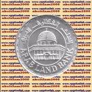 """1997 Egypt Egipto Египет Ägypten Silver Coin """"50 Years Arab Land Bank""""#KM847,1 P"""