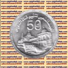 "2006 Egypt Egipto مصر Ägypten Silver Coin "" Suez canal nationalization "", 5 P"
