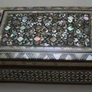 Egypt Египет Ägypten , Islamic Mother of Pearl Mosaic Inlaid Wood Jewelry Box