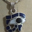 "Hall marked Egyptian Pharaonic Silver Pendant  ""Ankh,Isis,Scarab "" variety"