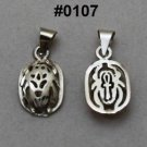 Hall marked Egyptian, Pharaonic, Authentic Silver Pendant,Tut,Scarab,variety