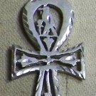 Hall marked Egyptian Pharaonic Silver Pendant ,Eye of Horus , Ankh ,Lotus , Isis
