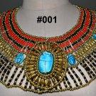 Egypt Egipto Египет Ägypten مصر Queen Cleopatra style Pharaoh's Necklace/Collar