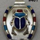 Hallmark Egyptian, Pharaonic, Authentic Silver Pendant, Scarb, Ankh, Variety